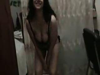 مثير فتاة عربية الرقص عارية