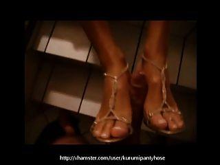 كوروميبانتيوس العامة فوتجوب مع حذائي على!