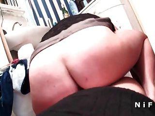 ببو الفرنسية أمي مارس الجنس من الصعب في بوف