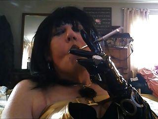 التدخين مع حامل بلدي