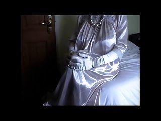 خمر، ثوب قرنفلي اللون، الحرير، ثوب النوم