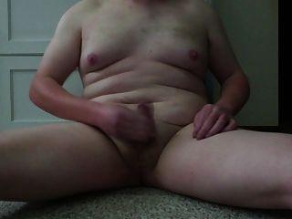 سمين شاب أبيض صبي الرجيج و كومنغ