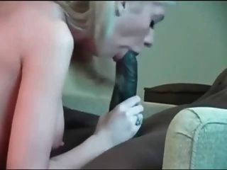ضخمة الديك الأسود و فتاة بيضاء