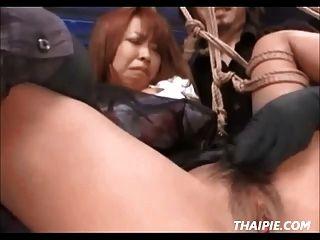 المتطرفة الآسيوية عبودية واللعب