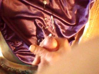 الأرجواني الحرير اللباس الداخلي نائب الرئيس