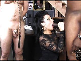مر سمالكوك يراقب زوجته مارس الجنس بواسطة بي بي سي