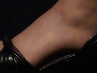 مثير أقدام النايلون 1
