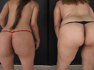 2 الفتيات الثديين المرضعات لا كس
