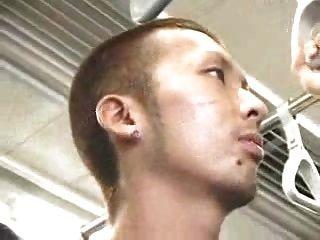 اليابانية قطار الجنس مثلي الجنس