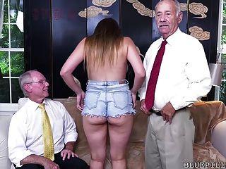 اللبلاب روز يحصل مارس الجنس من قبل الجد القديم