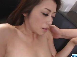 ماكي هوجو يحاول ديك ضخمة في لها الكرز منتفخ