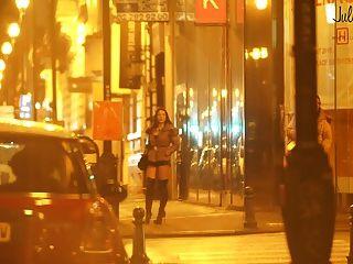 حقيقي عاهرة في الشارع بيوت دانز لا رو