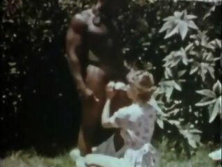 بلانتاتيون الحب عبد كلاسيكي بين الأعراق 70s