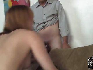 زوج مشاهدة زوجته مارس الجنس بواسطة بكس