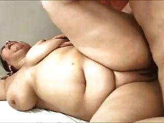 الحمار كبيرة اللاتينية ناضجة الشرج مارس الجنس