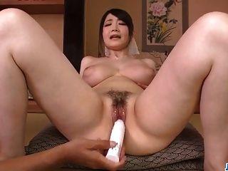 ري تاشيكاوا، مفلس الجمال، يذهل في الخام الجنس المعرض