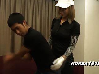 korea181.com مثير كوغار يرتدون ملابس للجولف