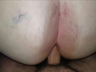 الجدة الدهون يحصل الحمار مارس الجنس الثاني