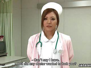 الممرضة اليابانية مذهلة يحصل creampied بعد أن ما يقرب من ص