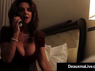 مفلس تكساس طراز كوغار deauxma الملاعين لها الفندق خدمة الغرف الرجل!