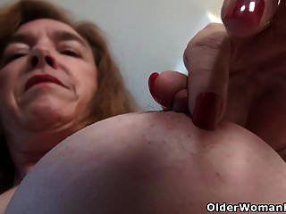 gilf american gilf amarner gentle her her pussy