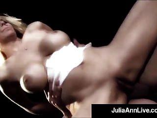 جبهة مورو الملكة جوليا آن يحصل الشرج مارس الجنس على خشبة المسرح!