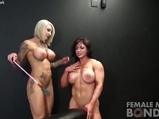 أنثى عارية كمال الاجسام اللعب عبودية
