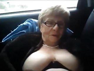 الجدة القذرة سيارة شخ