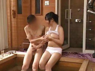 أزوسا nagasawa في الساونا سيدة الاحتلال الجزء 5