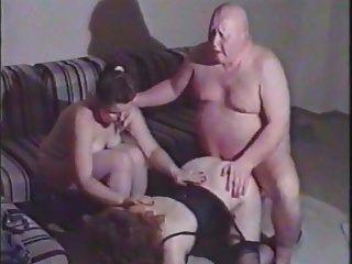 رجل سمين القبيح الملاعين امرأة ناضجة