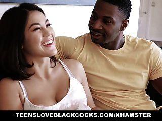 tlbc فتاة آسيوية يحب ديك أسود