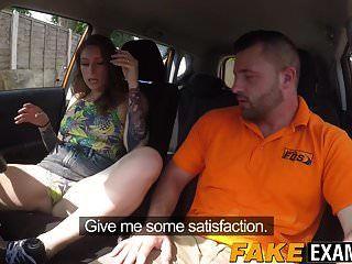 الديك شغف المملكة المتحدة الجبهة غير قادر على قيادة السيارة لكنه يريد اجتياز الاختبار