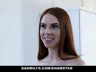 badmilfs الساخنة شقراء والأحمر الشعر جبهة مورو تمتص واللعنة غو الحديقة
