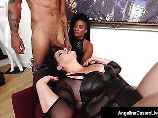 أنجلينا كاسترو تحصل على علاج جنسي من الياسمين!
