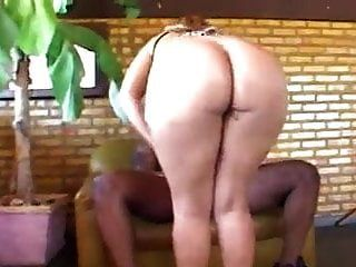 الاشقر البرازيلي مارس الجنس الأسود الشرج